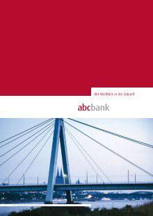 abcbank GmbH Werbemittel
